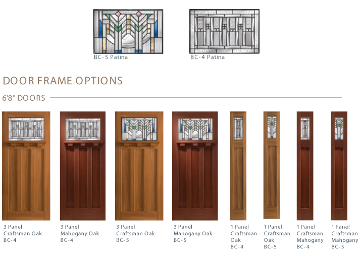 craftsman-door-options